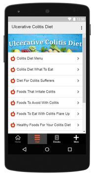 Ulcerative Colitis Diet screenshot 1