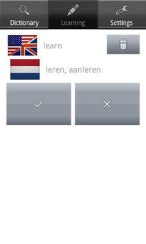 Word up! English-Dutch apk screenshot