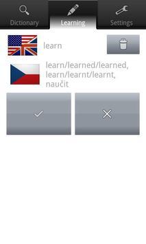 Word up! English-Czech apk screenshot