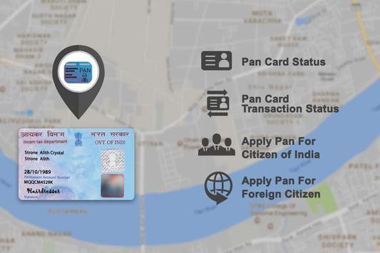 PAN Card Search, Scan, Verify & Application Status apk screenshot
