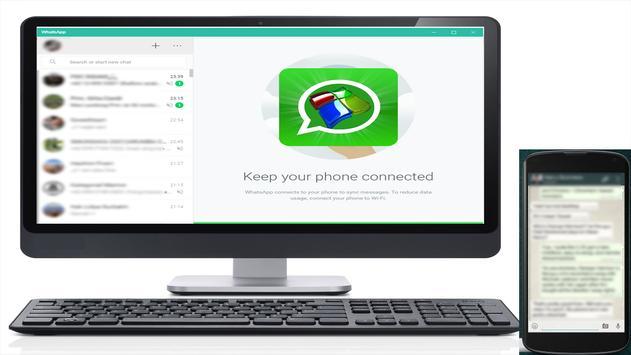 Desktop Whatsapp Messenger guide for Android screenshot 2