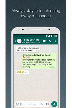 New WhatsApp Messenger screenshot 3