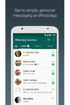 New WhatsApp Messenger screenshot 1