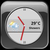 Slate Clock Widget [Free] icon