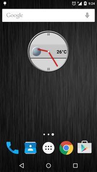 Slate Clock Widget [Free] poster
