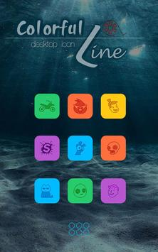 Free Colorful Icon Pack &Theme apk screenshot
