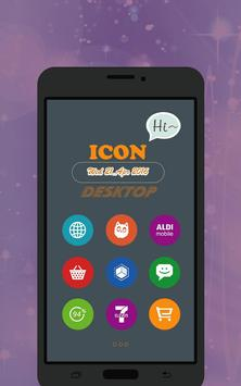 Win 10 Colors - Icon Pack Free poster