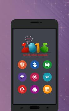 Win 10 Colors - Icon Pack Free apk screenshot