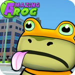Amazing frog ? in city screenshots APK