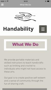 Handability poster