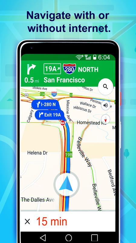 Download offline gps maps android