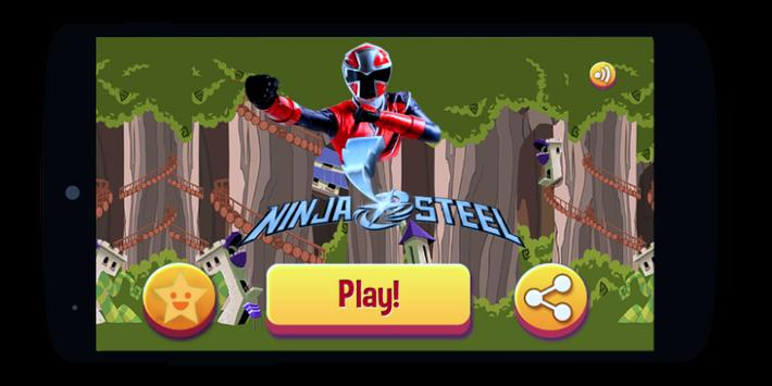 Power Ninja Steel Rangers wild force megaforce fun screenshot 5