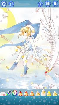 Sakura Cardcaptor Coloring Book screenshot 2