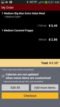 McD Ordering apk screenshot