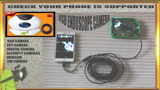 USB OTG CAMERA & Endoscope security cameras test for Android - APK