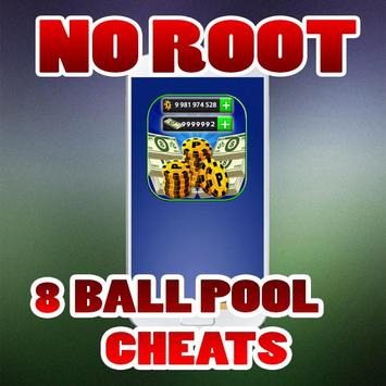 No Root Coins For 8 Ball Pool prank تصوير الشاشة 4