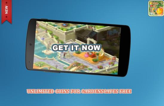 Coins cheats For Gardenscapes Prank (No Root) screenshot 3