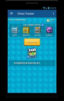 Ultimate CHEST TRACKER CR apk screenshot