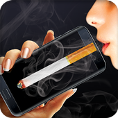 Smoking virtual cigarettes icon