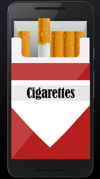 Smoking virtual cigarettes screenshot 2