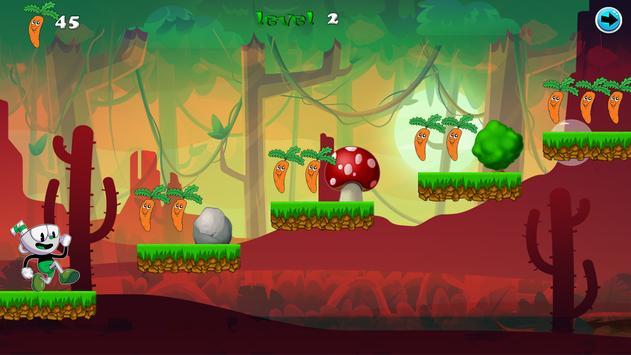 Cup on Head: World Mugman & Adventure jungle Games screenshot 1