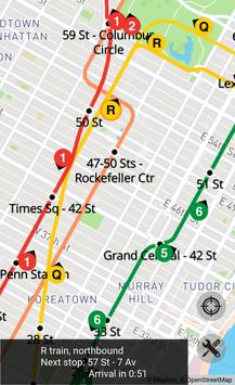 Realtime Subway Map screenshot 2