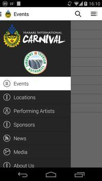 Harare International Carnival poster