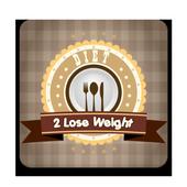 diet 2 lose weight icon