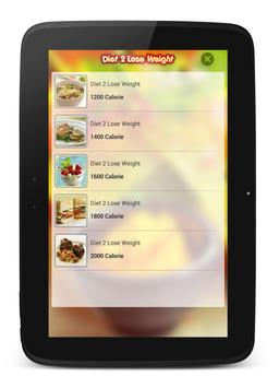 diet 2 lose weight apk screenshot