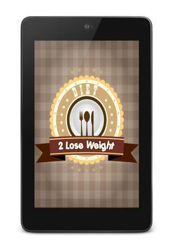 diet 2 lose weight screenshot 6