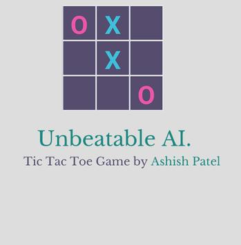 Tic Tac Toe : Unbeatable. apk screenshot