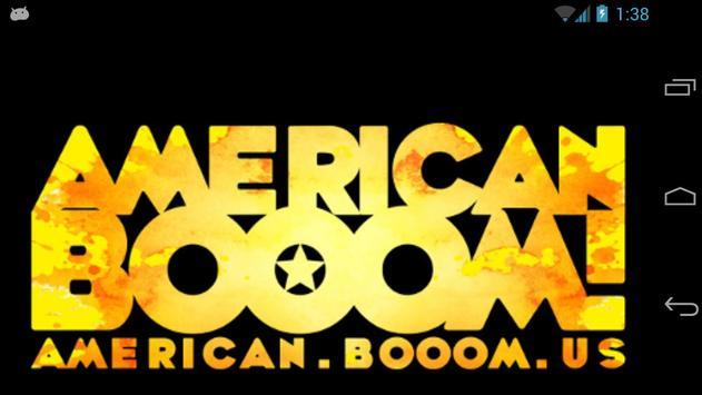American Booom poster