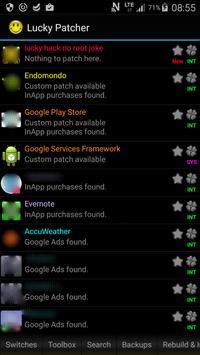 Lucky hacker guide apk screenshot