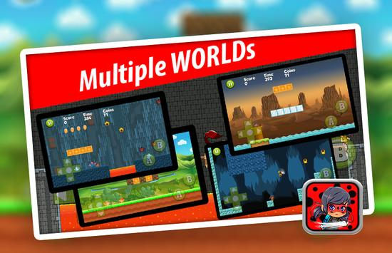 Ladybug Super Adventure apk screenshot