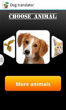 Dog translator poster