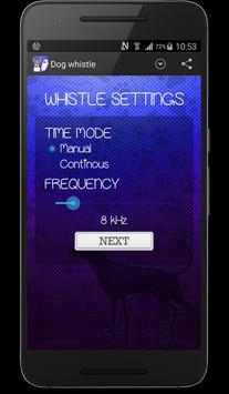 Dog whistle apk screenshot