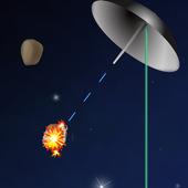 LASER SHIELD asteroids defense icon
