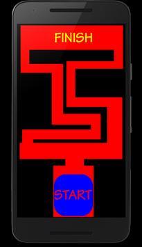 Horror maze poster