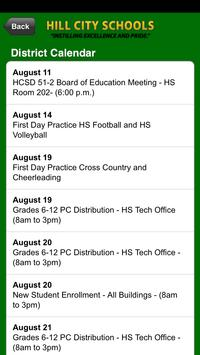 Hill City School District screenshot 1