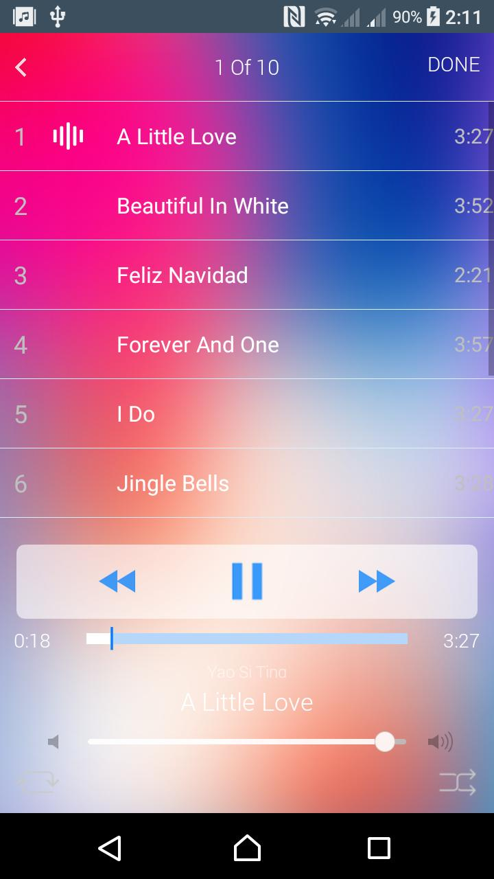iMusic for Iphone X / Music player iOS 11 for Android - APK Download