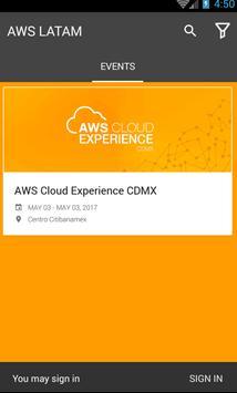 AWS Cloud Experience LATAM screenshot 1