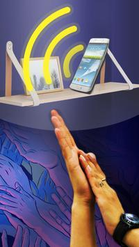 clap into hands to find phone apk screenshot