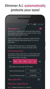 EyeShield: Dimmer Screen With A.I. apk screenshot