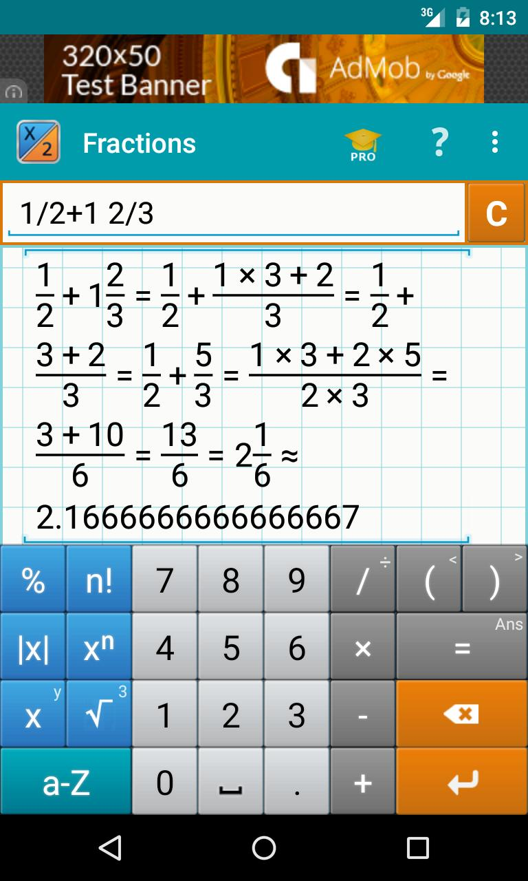 Fraction Calculator + Math for Android - APK Download