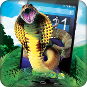 hissing snake on screen icon