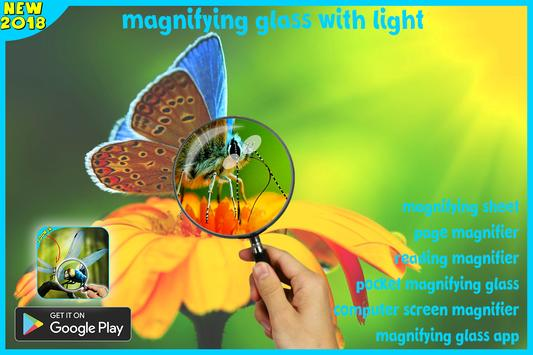magnifying glass microscope + flashlight app screenshot 3
