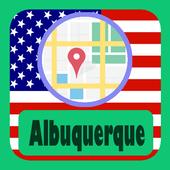 USA Albuquerque City Maps icon