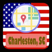 USA Charleston SC City Maps icon