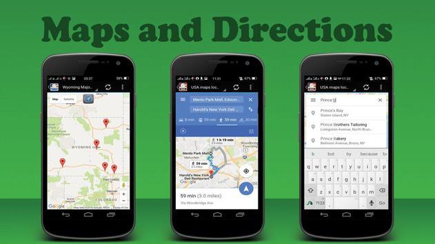 USA Albany City Maps screenshot 1