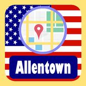 USA Allentown City Maps icon